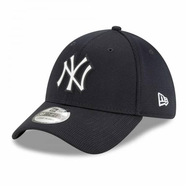 New York Yankees 2021 MLB Authentic Clubhouse New Era 39THIRTY Flex Cap