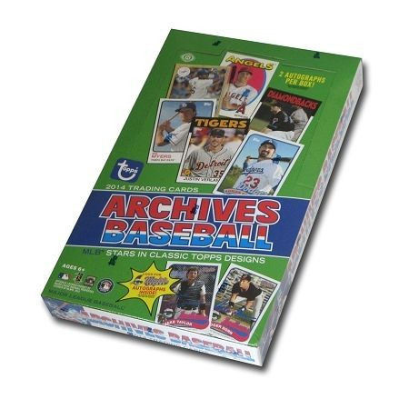 2014 Topps Archives Baseball Hobby Box MLB