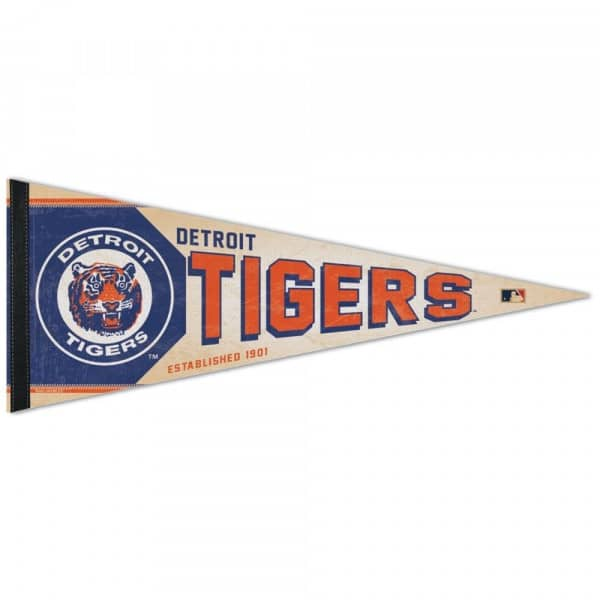 Detroit Tigers Cooperstown Premium MLB Wimpel