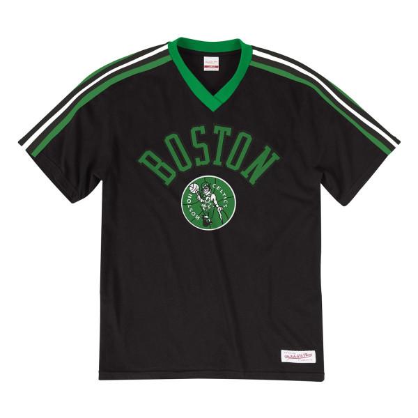 Boston Celtics Overtime Win V-Neck NBA T-Shirt
