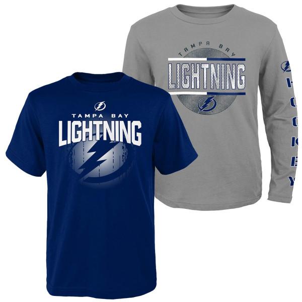 Tampa Bay Lightning Evolution 3-in-1 Combo Shirt Set (KINDER)
