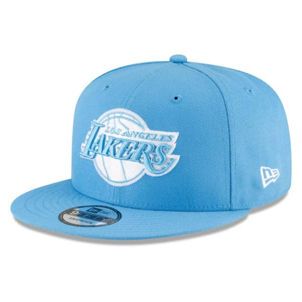 Los Angeles Lakers Official 2020/21 City Edition New Era 9FIFTY Snapback NBA Cap Alternate
