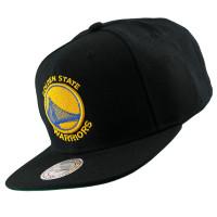 Golden State Warriors Wool Solid Snapback NBA Cap Schwarz