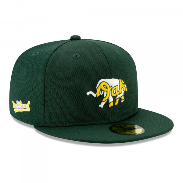 Oakland Athletics 2021 MLB Authentic Batting Practice New Era 59FIFTY Fitted Cap