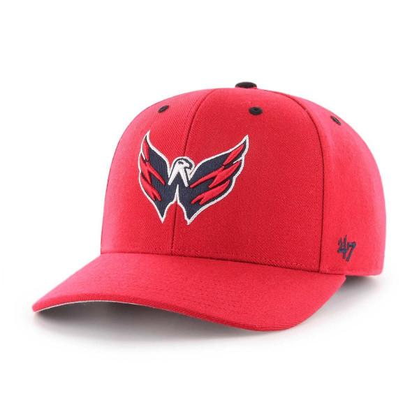 47 Brand Washington Capitals Audible MVP DP Adjustable NHL Cap Red ... 3ea982fe6224