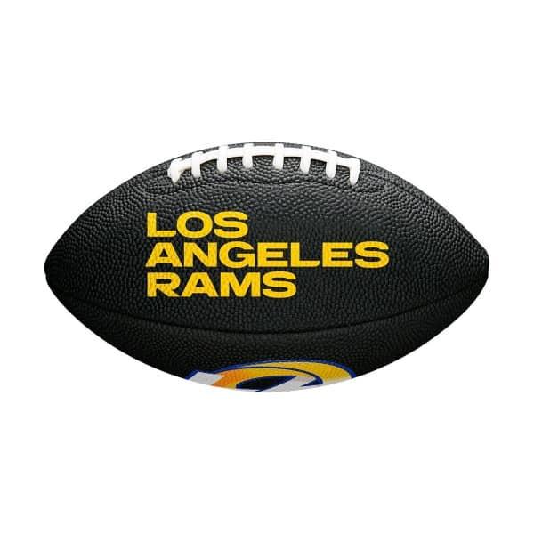 Los Angeles Rams NFL Wilson Mini Football Schwarz