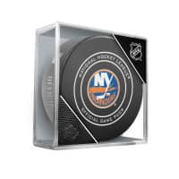 New York Islanders NHL Official Game Puck (2018)