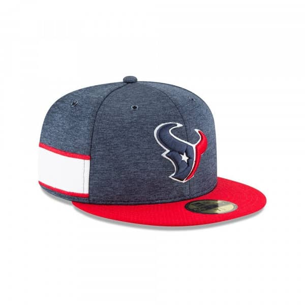 Houston Texans 2018 NFL Sideline 59FIFTY Fitted Cap Home