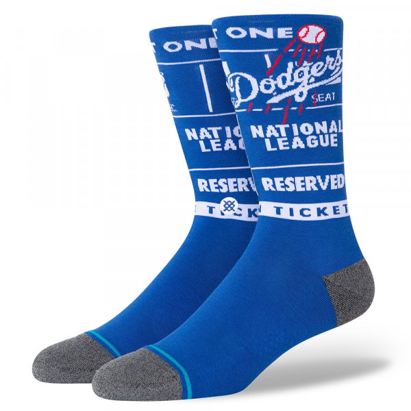 Los Angeles Dodgers InfiKnit Ticket Stub MLB Socken