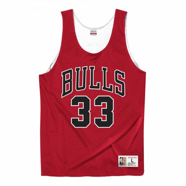Scottie Pippen #33 Chicago Bulls Mitchell & Ness NBA Reversible Mesh Jersey