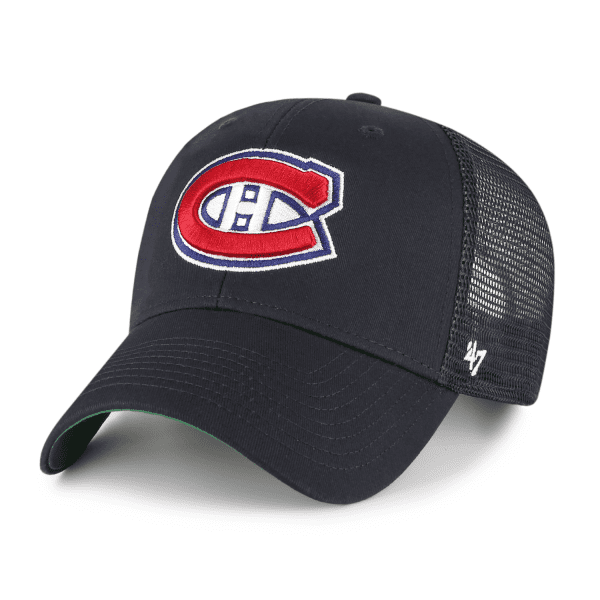 Montreal Canadiens '47 MVP Branson NHL Trucker Cap Navy
