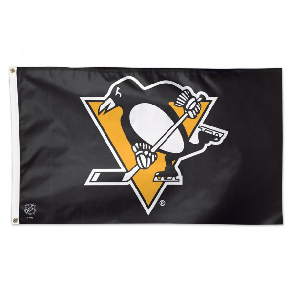 Pittsburgh Penguins Deluxe NHL Hissfahne (150 x 90)