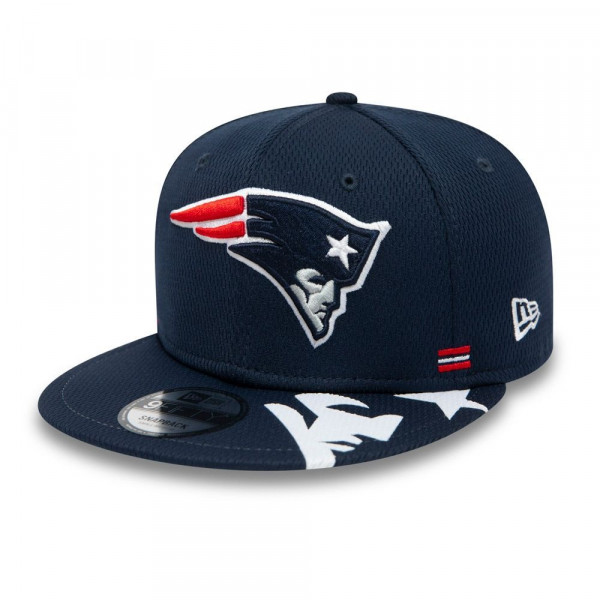 New England Patriots Unofficial 2020 NFL Sideline New Era 9FIFTY Snapback Cap Home