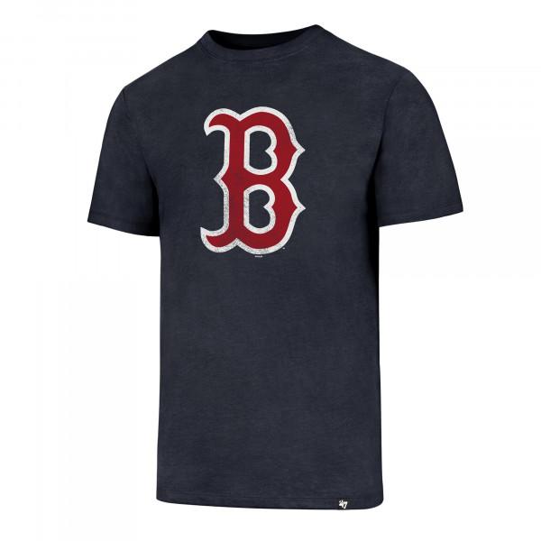 Boston Red Sox Distressed Logo MLB T-Shirt