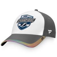 Tampa Bay Lightning 2020 Stanley Cup Champions Locker Room NHL Cap