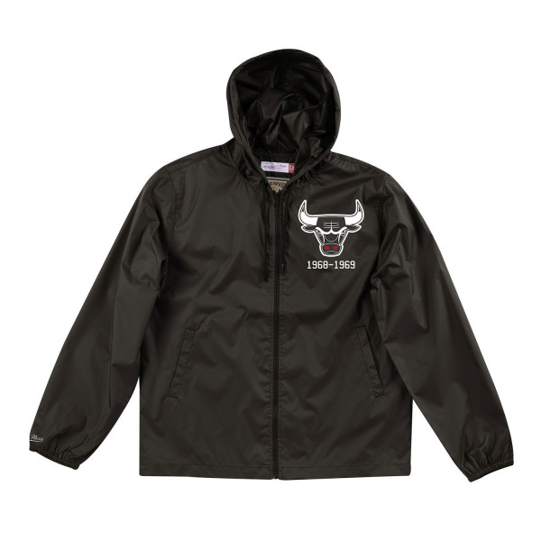 Chicago Bulls Team Captain NBA Windbreaker Jacke