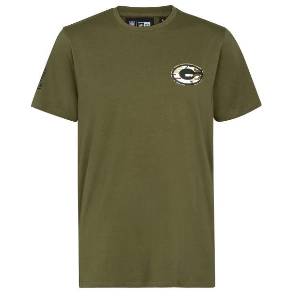 Green Bay Packers Digital Camo New Era NFL T-Shirt