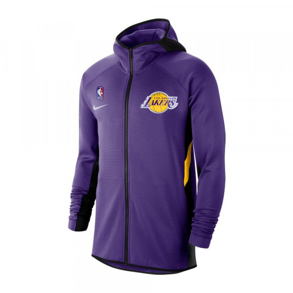 Los Angeles Lakers 2019/20 Showtime Therma Flex NBA Full-Zip Hoodie Lila