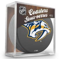 Nashville Predators NHL Eishockey Puck Untersetzer (4er Set)