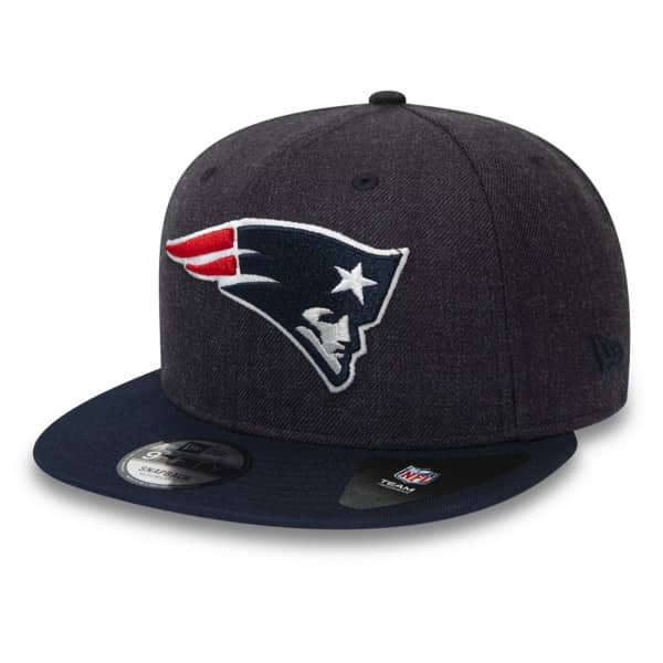 New England Patriots Heather Crown New Era 9FIFTY NFL Snapback Cap