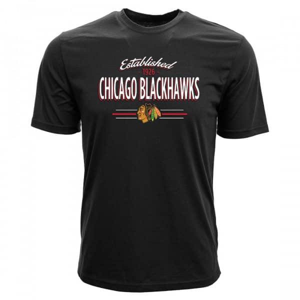 Chicago Blackhawks Established Crowned NHL T-Shirt