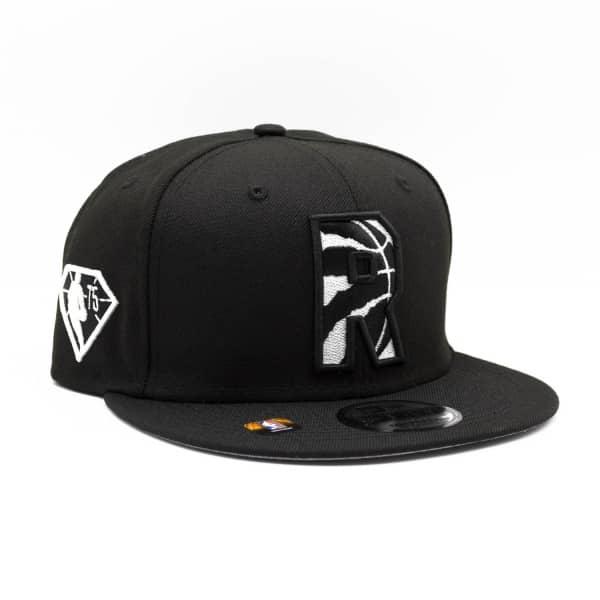 Toronto Raptors Black & White 2021 NBA Draft New Era 9FIFTY Snapback Cap