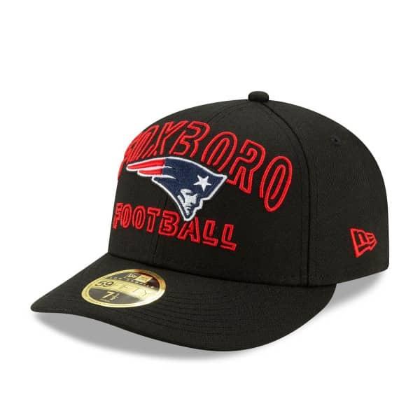 New England Patriots 2020 NFL Draft New Era Low Profile 59FIFTY Cap Alternate