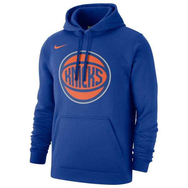 New York Knicks Mesh Logo NBA Sweatshirt Hoodie