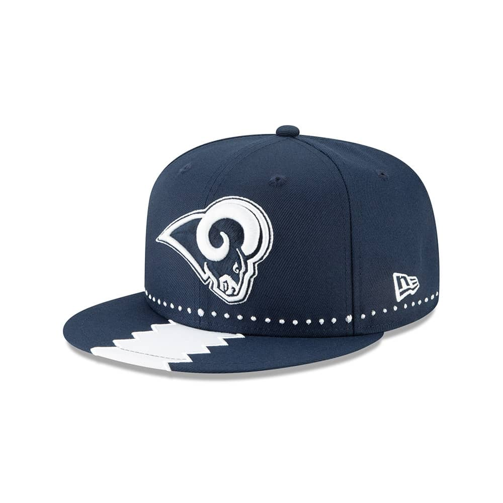 brand new 632ad 634d0 New Era Los Angeles Rams 2019 NFL Draft 9FIFTY Snapback Cap On-Stage    TAASS.com Fan Shop