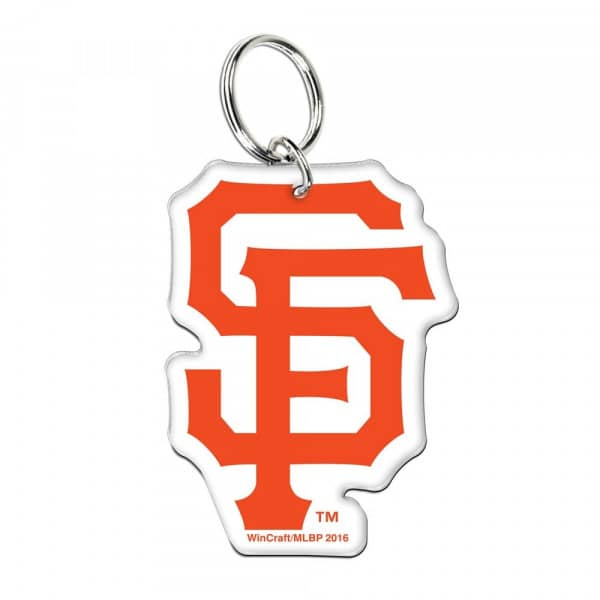 San Francisco Giants Premium Logo MLB Schlüsselanhänger