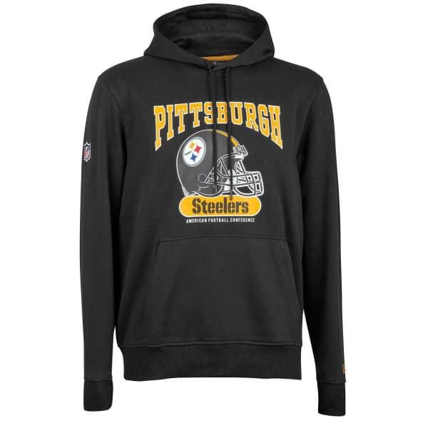 New New Era Pittsburgh Steelers Archie Hoodie NFL Sweatshirt Black