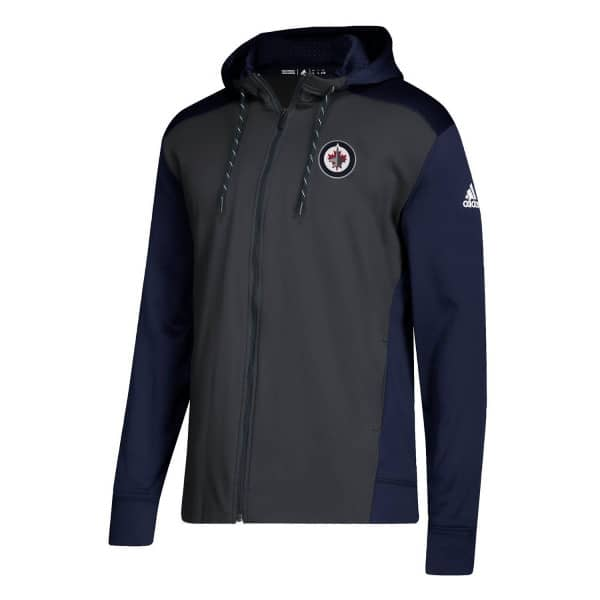 Winnipeg Jets NHL Full-Zip Hoodie
