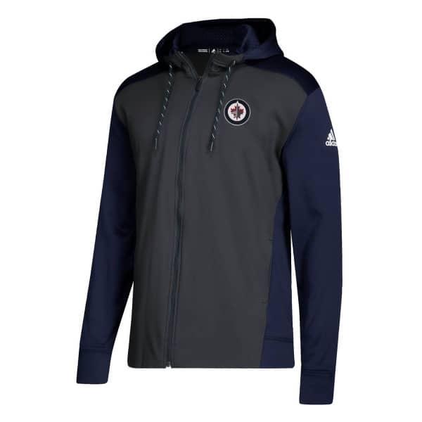 online retailer b35b3 ae113 Winnipeg Jets NHL Full-Zip Hoodie