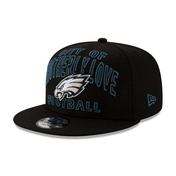 Philadelphia Eagles 2020 NFL Draft New Era 9FIFTY Snapback Cap Alternate