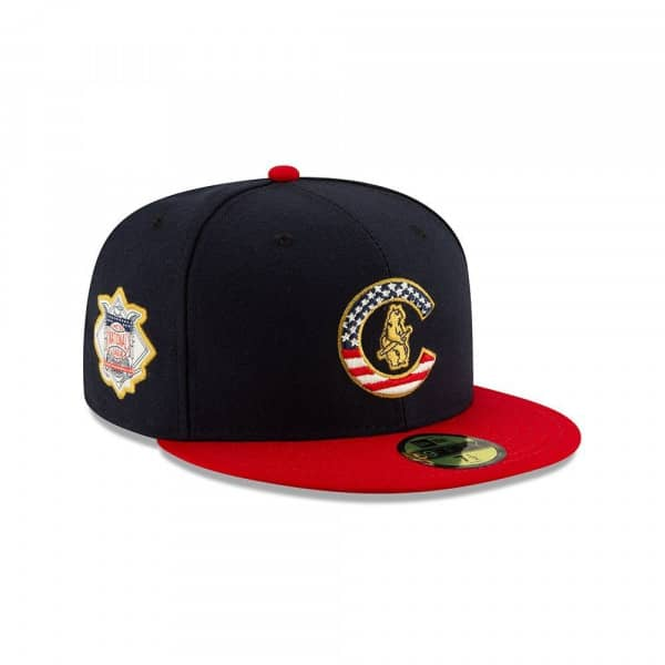 Chicago Cubs 4th of July 2019 59FIFTY Fitted MLB Cap