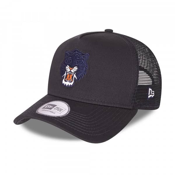 Detroit Tigers Elemental New Era Adjustable MLB Trucker Cap