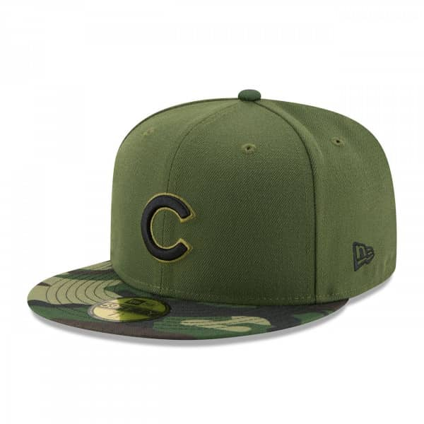 Chicago Cubs 2017 Memorial Day 59FIFTY Fitted MLB Cap