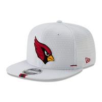 Arizona Cardinals 2019 NFL Training 9FIFTY Snapback Cap Weiß
