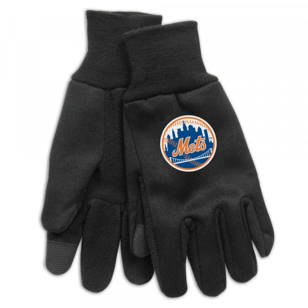 New York Mets Technology Touch-Screen MLB Handschuhe