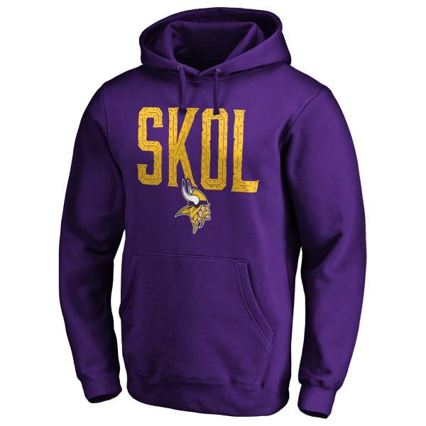 Minnesota Vikings SKOL NFL Hoodie