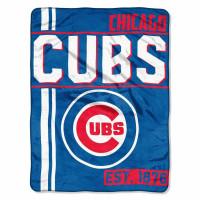 Chicago Cubs Super Plush MLB Decke