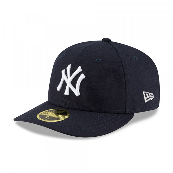 best service 9f640 d1d9a New York Yankees Authentic Low Profile 59FIFTY Fitted MLB Cap Game