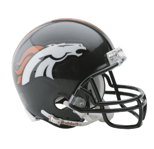 Denver Broncos Football NFL Mini Helmet