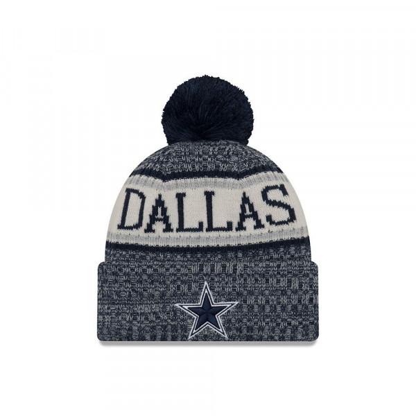 158315b84 New Era Dallas Cowboys 2018 Sideline Sport Knit NFL Knit Hat | TAASS.com Fan  Shop