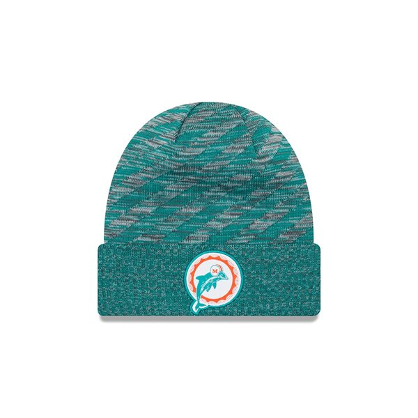 6749f3b2 Miami Dolphins Throwback 2018 Sideline Touchdown NFL Knit Hat