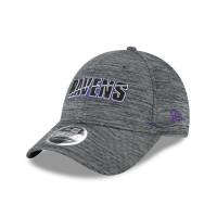 Baltimore Ravens 2020 Summer Sideline New Era Stretch-Snap 9FORTY NFL Cap Grau