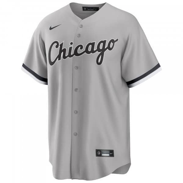 Chicago White Sox 2020 Nike MLB Replica Road Trikot Grau