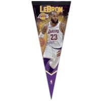 Lebron James Los Angeles Lakers Premium NBA Wimpel