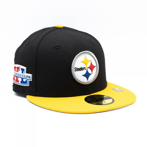 Pittsburgh Steelers Super Bowl XL New Era 59FIFTY Fitted NFL Cap