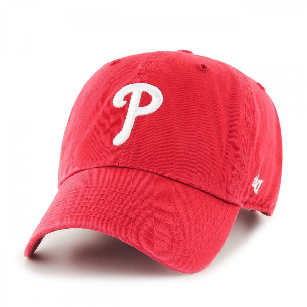 huge selection of 3a8c1 75a52  47 Brand Philadelphia Phillies Clean Up Adjustable MLB Cap Red   TAASS.com  Fan Shop